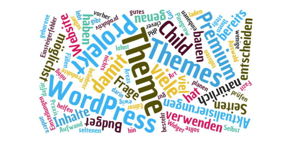 Das beste WordPress Theme für Ihr Projekt wählen
