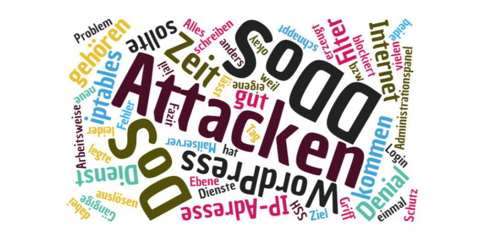 DoS/DDos Attacken mit fail2ban abwehren