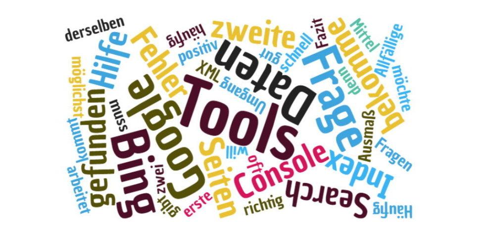 Suchmaschinenoptimierung mit Webmaster Tools